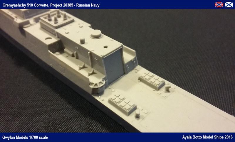 Corvette Russe Gremyashchy 510 Projet 20385 Gwylan Models 1/700 24772444654_98c6c2fcaa_c