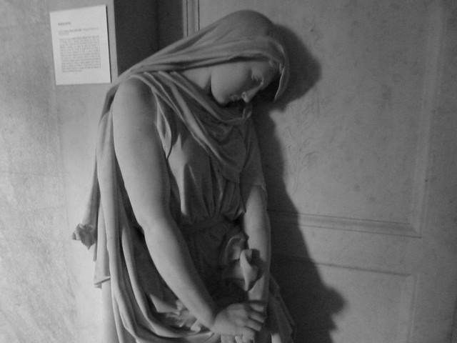 Estatua del jazigo de los Duques de Palmela (Lisboa)