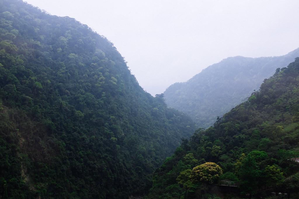 Los bosques de alrededor de Wulai, perfecto escenario para practicar senderismo y deportes de aventura