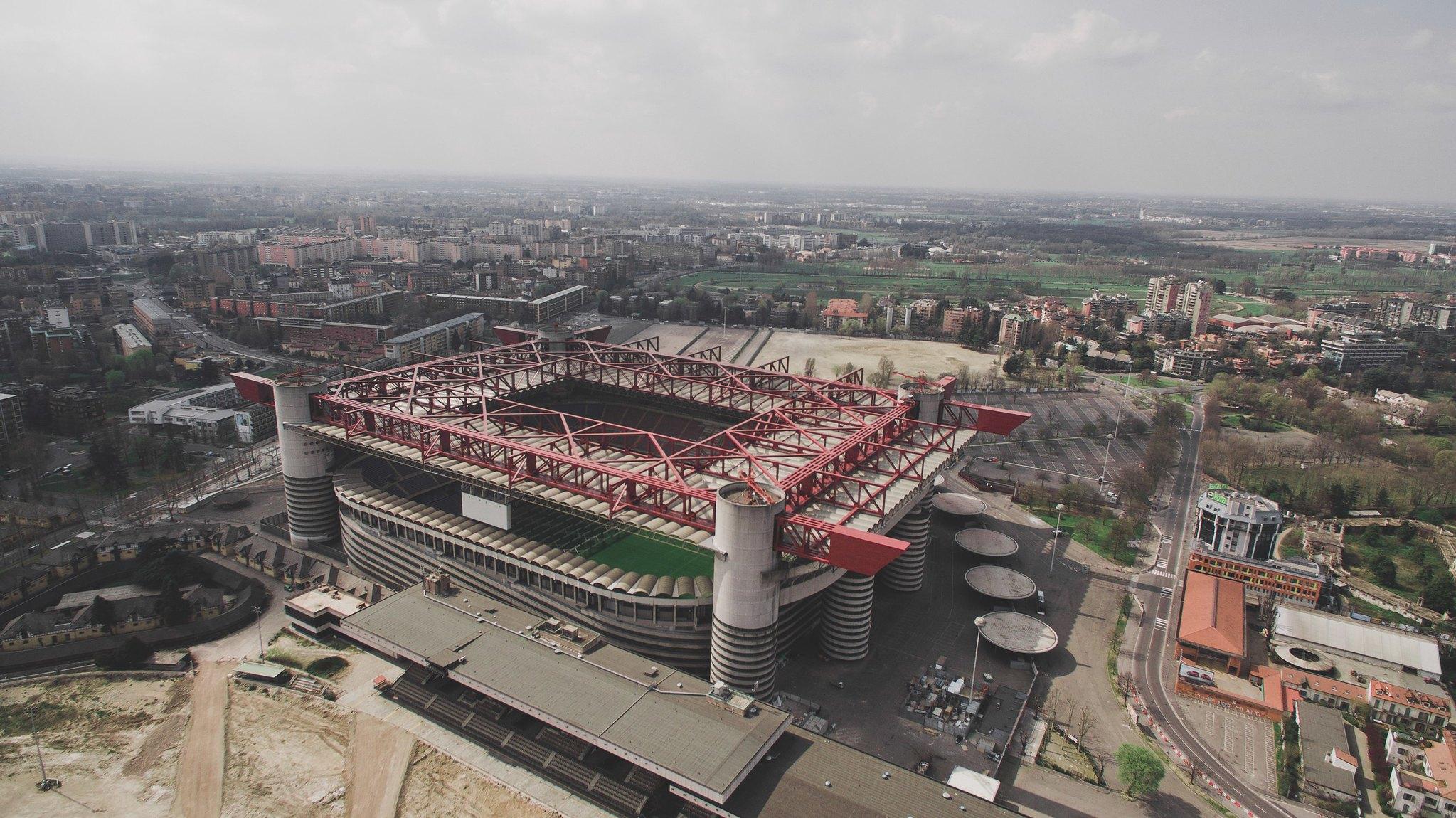 San Siro Stadium Milan football Pinterest