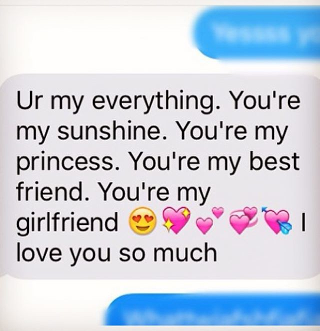 love text to girlfriend