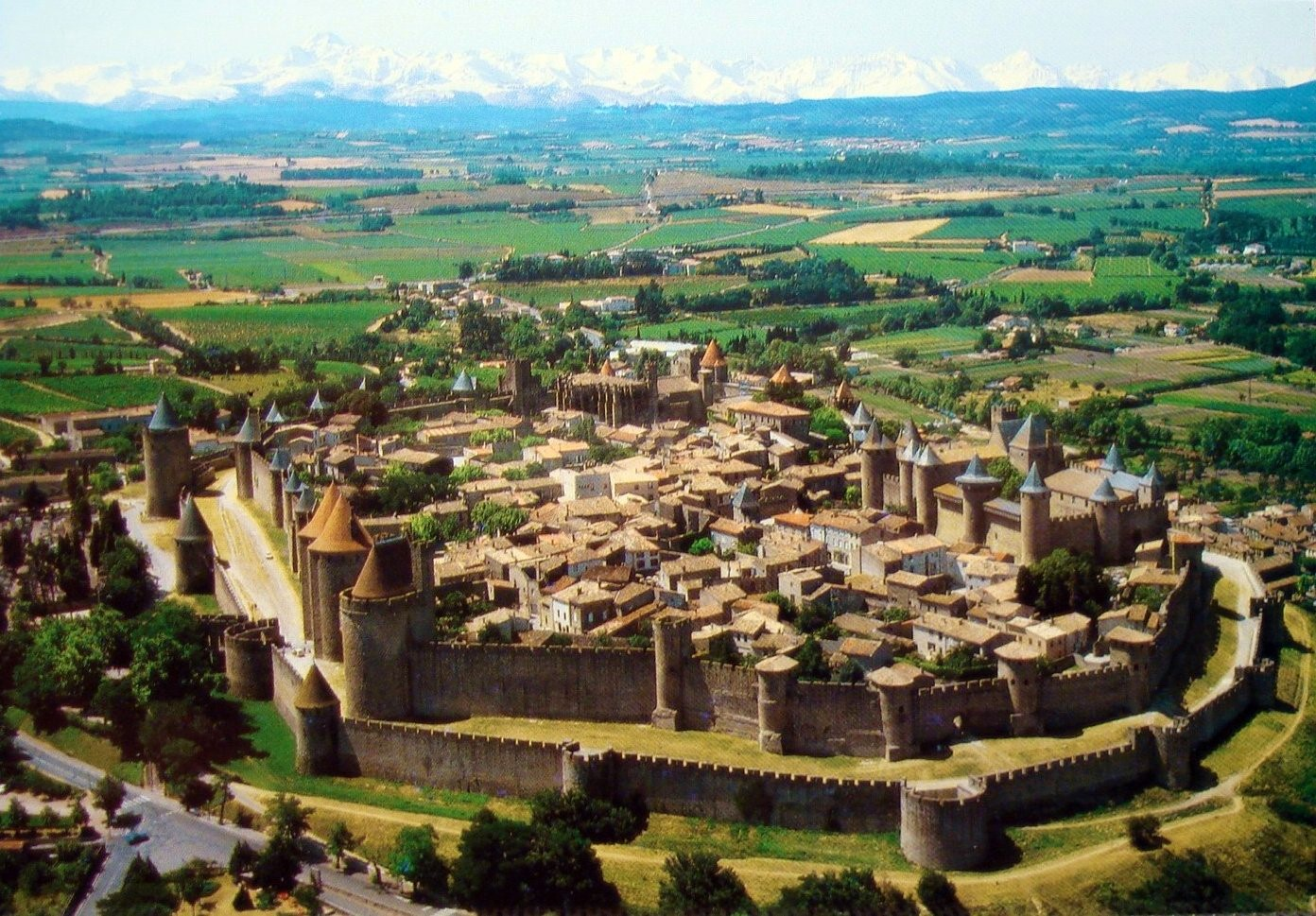 Cité de Carcassonne. Photo erjk.amerjka