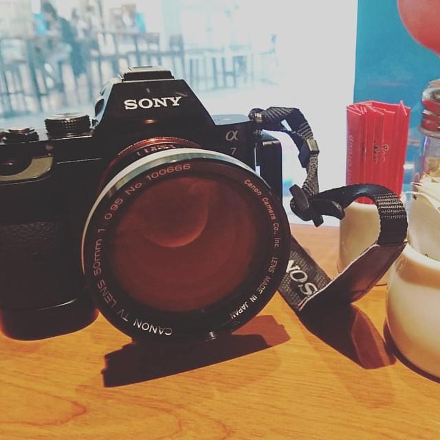 Canon TV 50mm f0.95 佳能的大光圈時代
