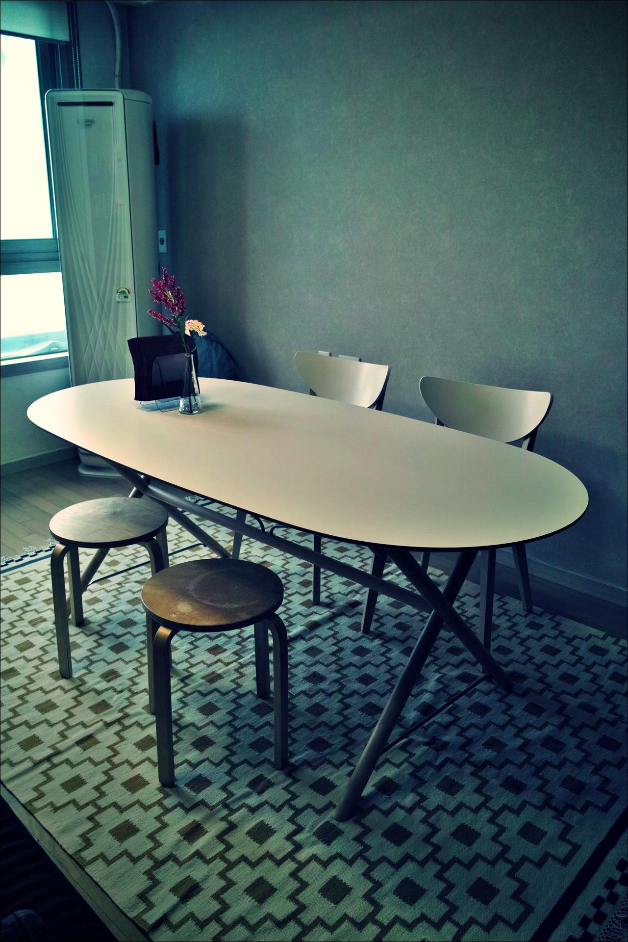 식탁 -'이케아 가구 조립 노하우. How to assemble ikea furnitures'