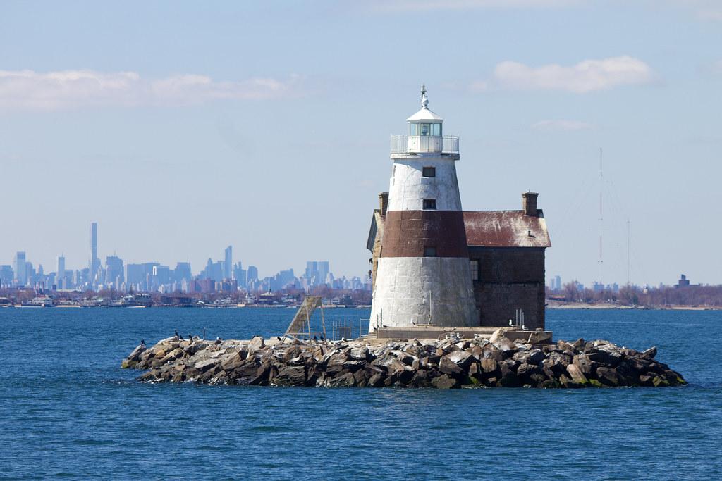 Long Island Lighthouses Map
