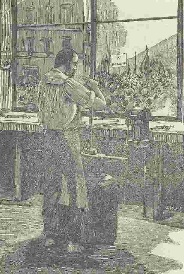義大利,1900年五一海報,佛羅倫斯