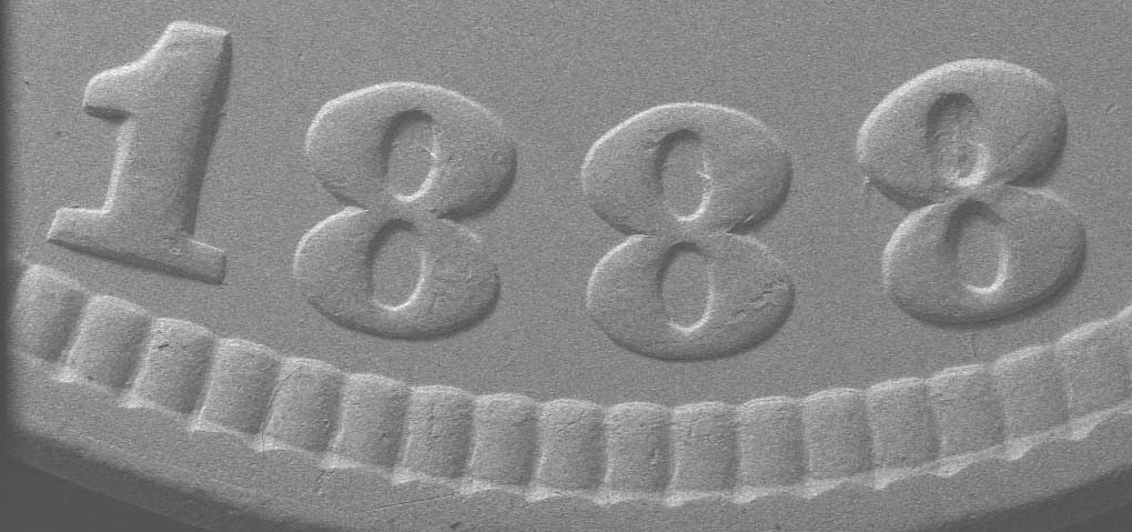 SEM image of markers