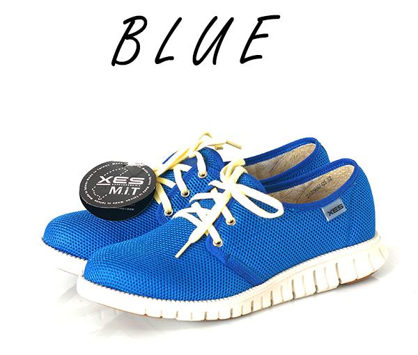 藍色鞋子的連結