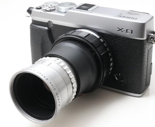 Kodak Cine Ektar 63mm F2.0 (改富士) 16mm美國電影鏡 色濃銳利 散景轉 最近對焦6吋