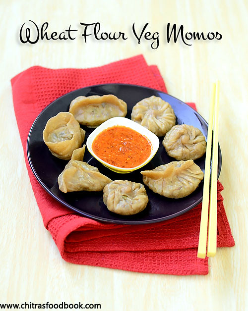 How to make wheat flour momos