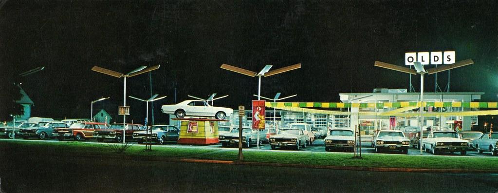 Loder Oldsmobile Co., Salem OR, 1967 | 745 Liberty NE ...