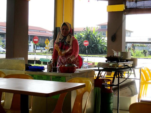 Udak Kitchen roti canai stall