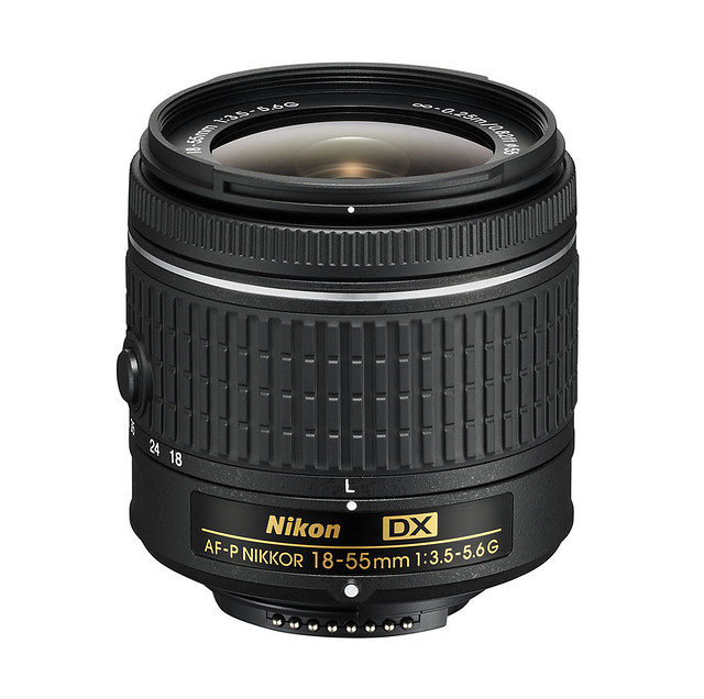 Nikon objektiv DX formata 18-55mm