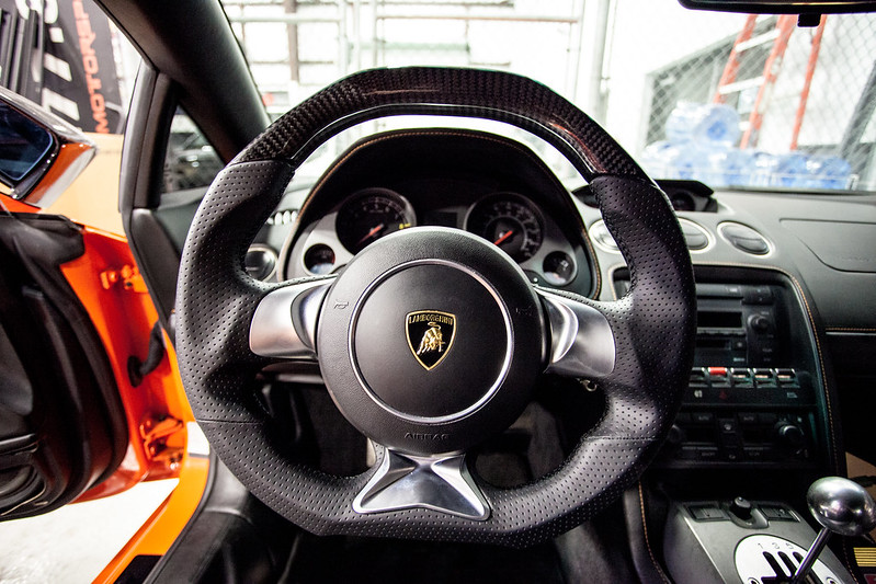 DCTMS Lamborghini Gallardo Steering Wheel Projects - No ...