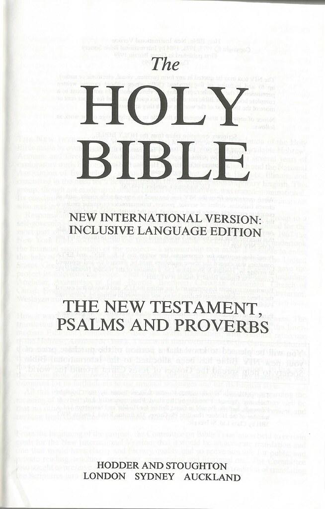 new international version