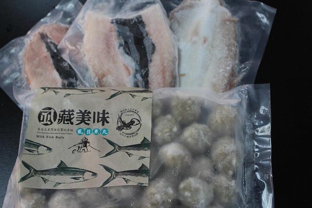 台江國家公園推出的友善生態養殖產品。攝影:廖靜蕙