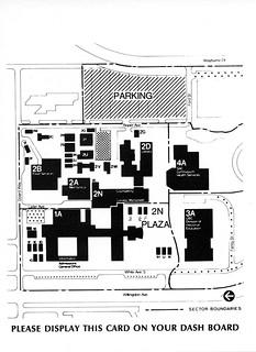 BCIT campus map. 1984