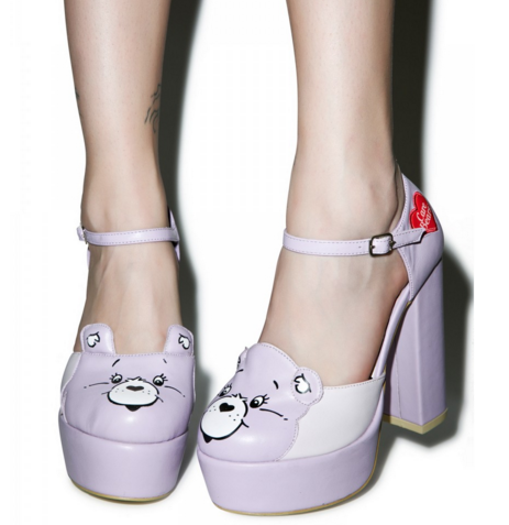 iron fist care bear heels