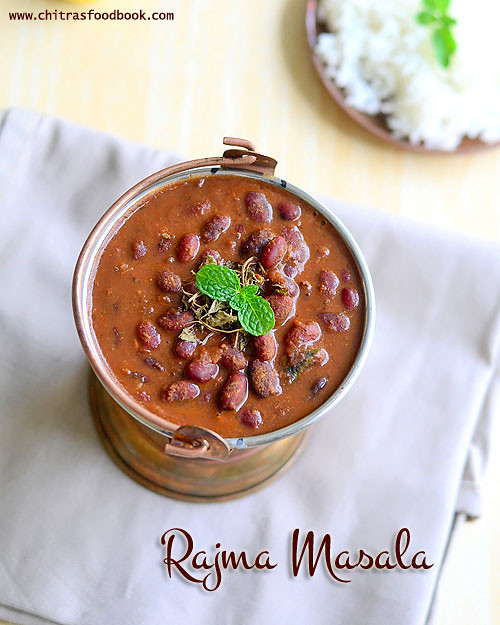 Kashmiri Rajma gravy recipe