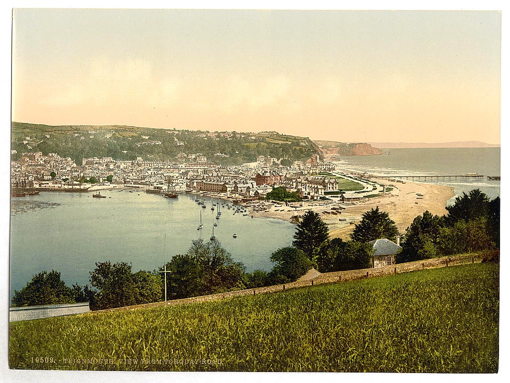 View from Torquay Road, Teignmouth, Devon