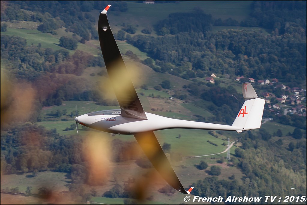 Planeur , Silent 2 Electro , Vole à Voile , ULM , Coupe Icare 42 edition 2015 , St Hilaire Touvet , coupeicare 2015 , Meeting Aerien 2015