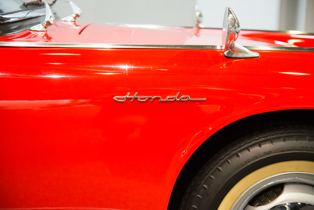 Hondaの文字
