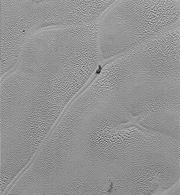 VCSE - Mai kép - Szputnyik Planum részlet - New Horizons, NASA