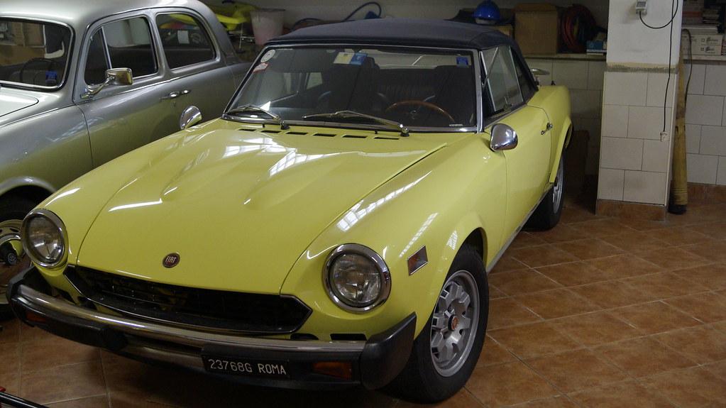 Fiat 124 Spider - 1974