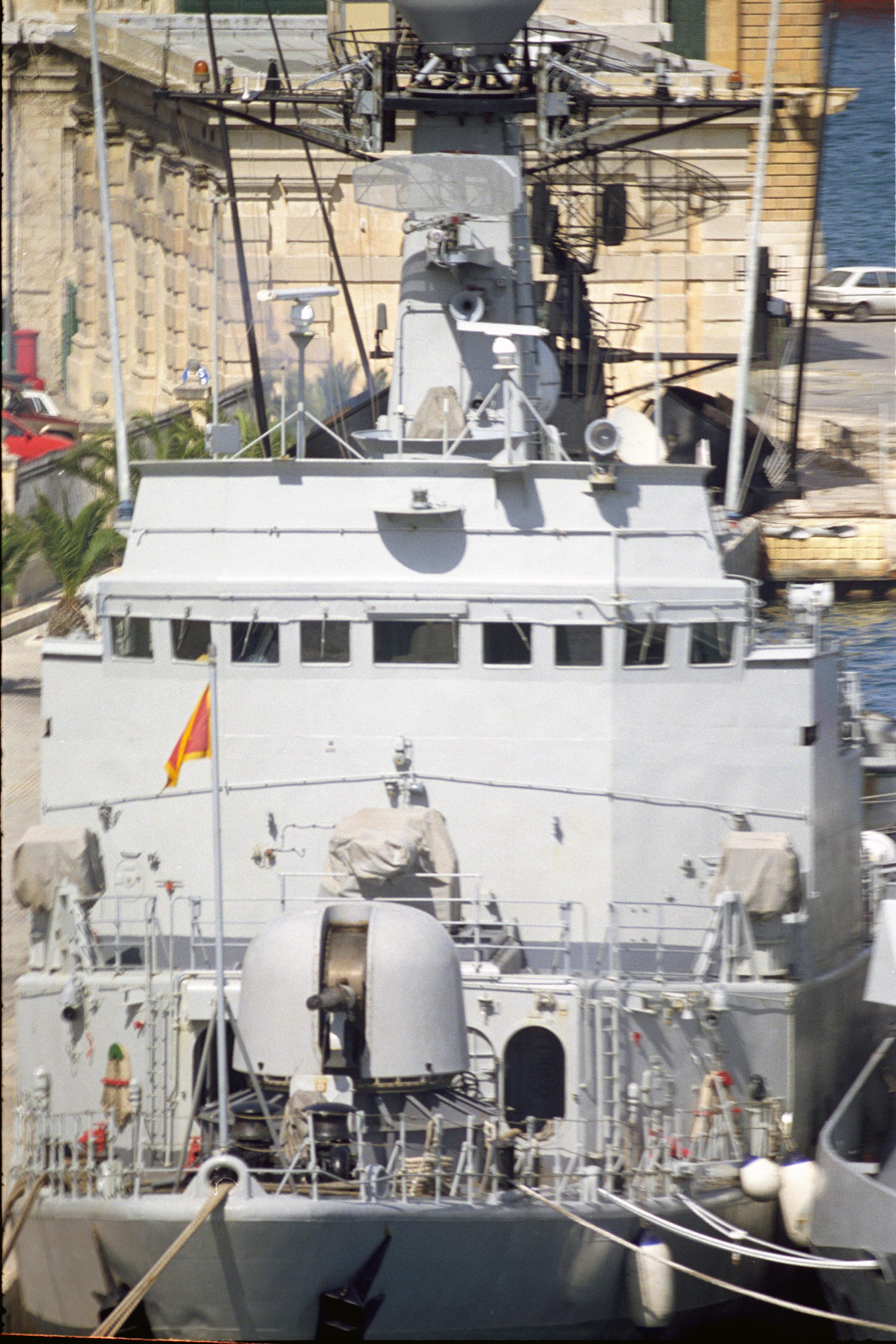 Royal Moroccan Navy Descubierta Frigate / Patrouilleur Océanique Lt Cl Errahmani - Bâtiment École - Page 3 24353624053_cd43051115_o