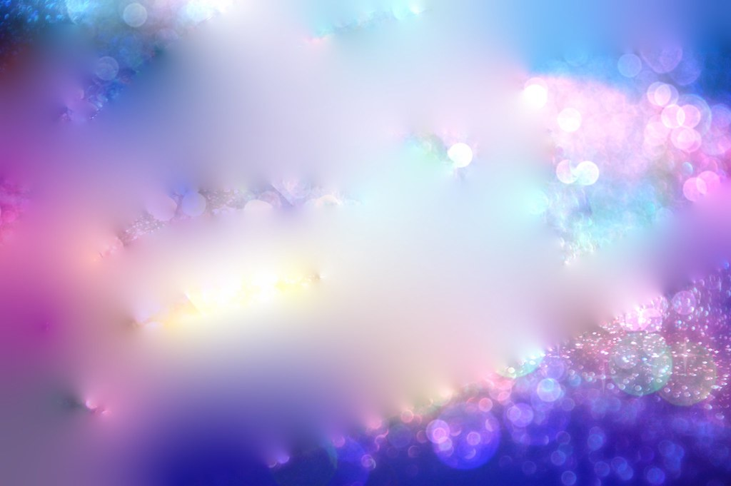 Blur And Soft Lights Worship Background Sapphire Dream