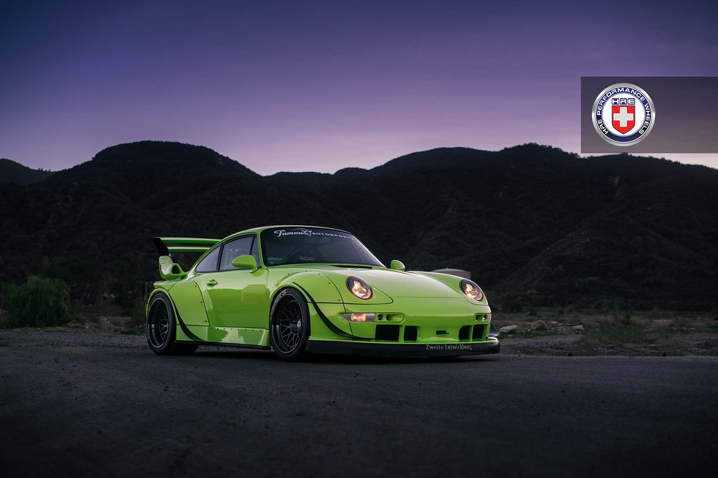 Targa Rwb Walpaper: One Wild 993 RWB With HRE Classic 300 Wheels