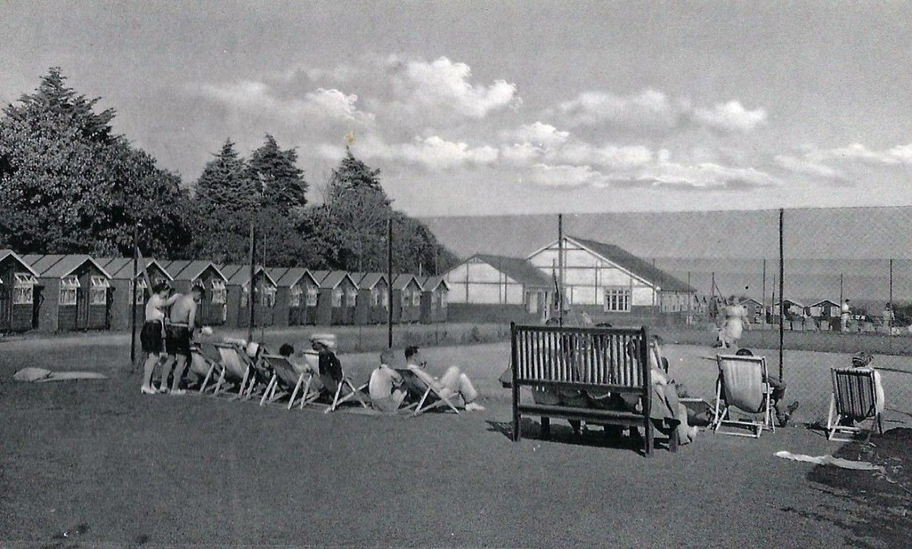 Warners Bembridge Holiday Camp Isle Of Wight During The