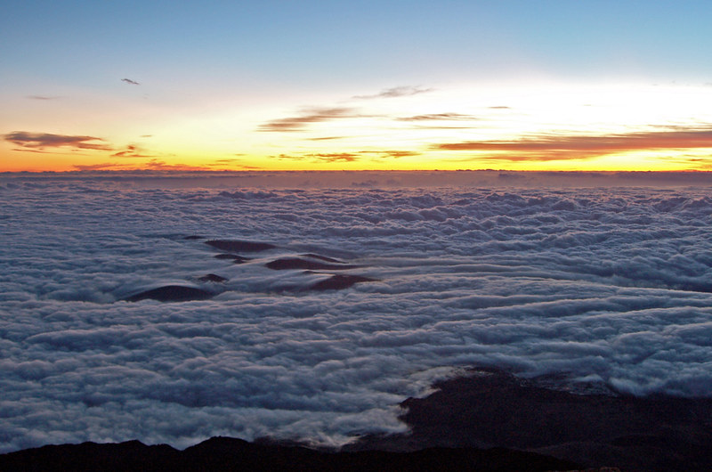 Sunrise from Mount Teide, Tenerife