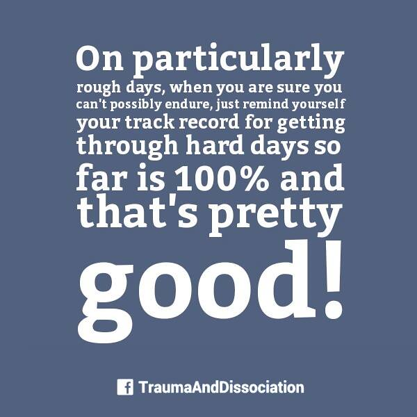 Having A Rough Day? #ptsd Is Tough On Particularly Rough D