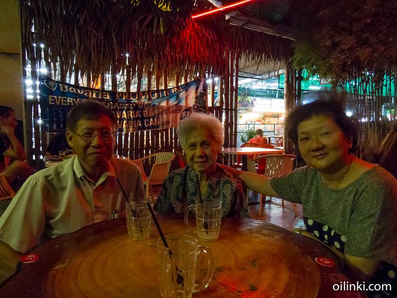 My kidnappers at Penang Malaysia