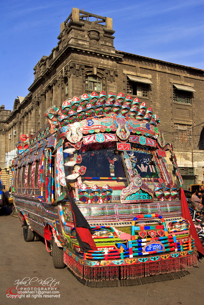 W Bus Is The Icon Of Karachi Beautiful Pakistan And