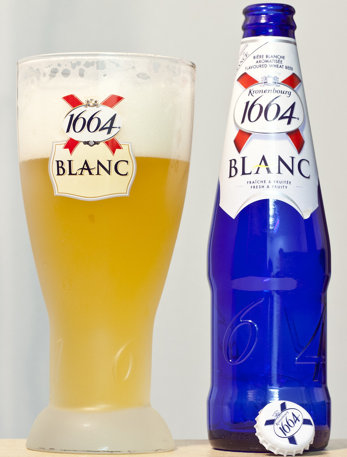 From the archives: Kronenbourg 1664 Blanc