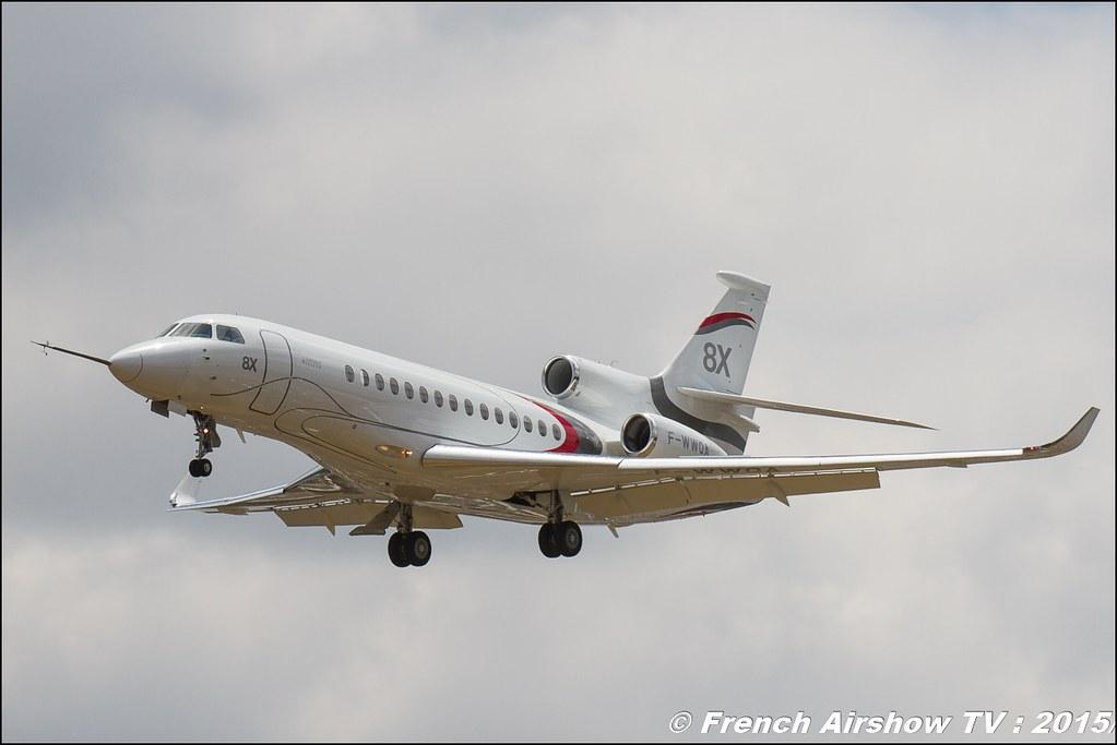 Dassault Falcon 8X Salon du Bourget Sigma France Paris Airshow 2015