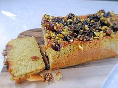 Pistachio lime cake