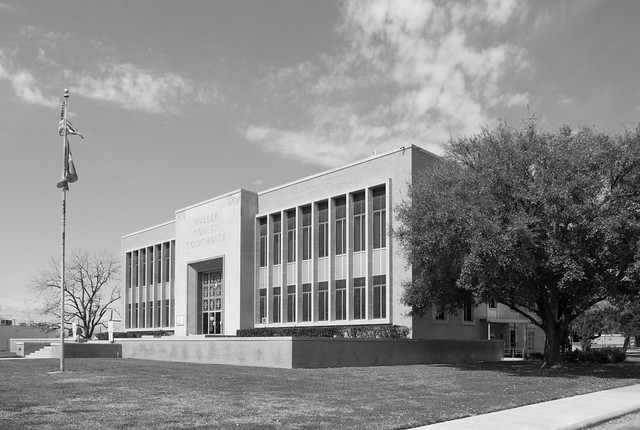 Waller County Courthouse, Hempstead, Texas 1603061254bw