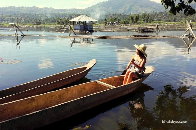 Tboli Wooden Boat Lake Sebu