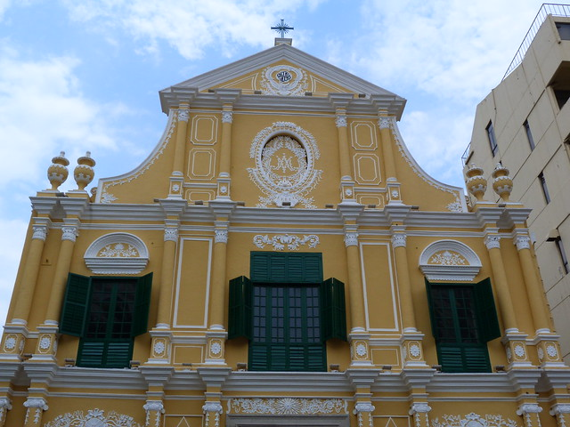 Iglesia de Sao Domingos en Macao