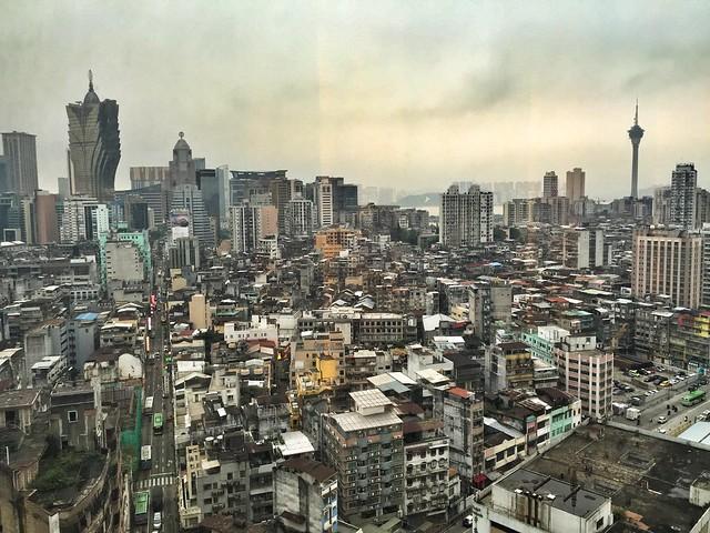 Vistas de Macao desde el Hotel Sofitel Macau at Ponte 16