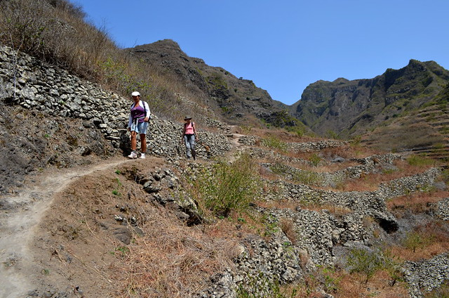 Walking with Hetty, Santo Antao, Cape Verde
