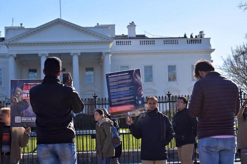 07-January-2016-Ban Wahhabism Campaign at The White House-Washington, D.C