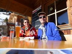 Alex und Axel auf der Steineralm