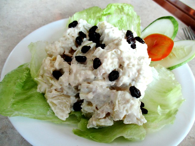 Valentine Cafe potato tuna salad