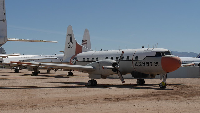 Convair T-29B Flying Classroom