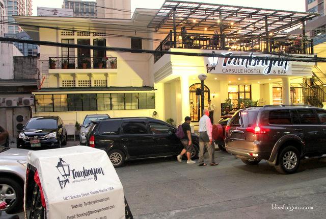 Tambayan Capsule Hostel Manila