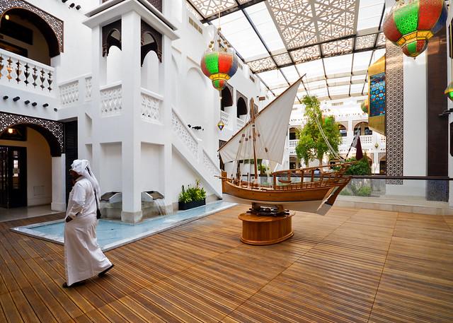 Interior del Zoco del oro de Doha
